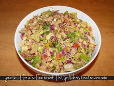 Copycat Recipe of Portillo's Chopped Salad--YUM!