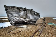 Dungeness - Abandoned Boat