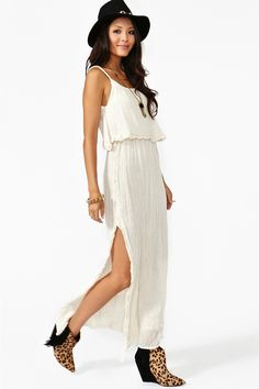 Dream Crochet Maxi Dress