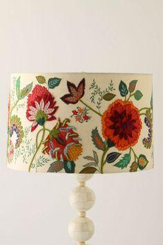 What a pretty lamp.