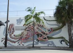NYCHOS | dissection of a Deinonychus (raptor) miami 2013