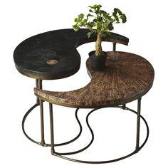 Home decor design on pinterest for Table yin yang basse