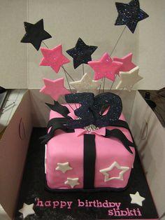cute 30th bday cake