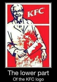 logos, funny pics, funny pictures, funni, demotivational posters, true stori, funny images, kfc, fried chicken