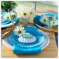 Beach theme wedding decorations