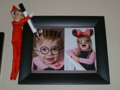 Elf on the Shelf HUGE list of ideas.  This is awesome!  The kids will think this is SOOOO FUNNY!!