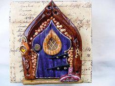 Salt dough fairy door dough fairi, salt dough fairy door, fairi door, fairy doors