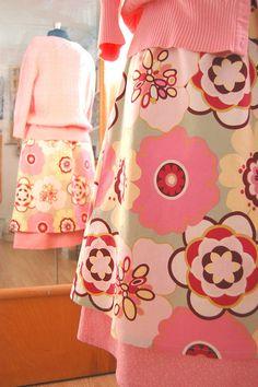 Two layered skirt