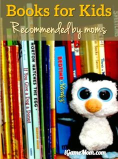 More Books for Kids Recommended by Moms