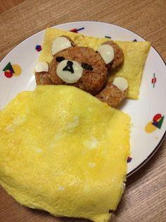 Ingeniosa presentación, con carne, queso y huevos.