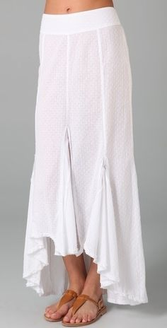Free People Morning Glory Maxi Skirt - StyleSays