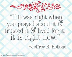 Jeffrey R. Holland quote