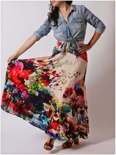 Julia Bobbin - Gabriola Skirt by Sewaholic Patterns