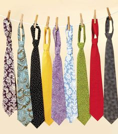 Need a handmade gift idea? These ties are perfect! #sewjoann