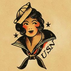Sailor jerry girl