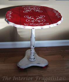 Drop leaf flip top table - After