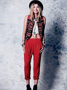 fashion, outfit, 90s style, free peopl, boho