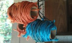 Reused Twine from Straw Bales