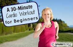 Indoor cardio walking workout for beginners! | via @SparkPeople #fitness #exercise #video #walk
