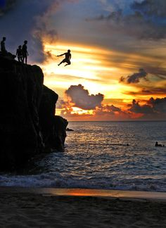 jumping free