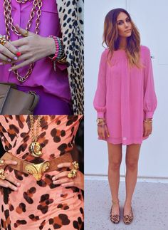 Leopard and pink