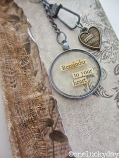 One Lucky Day: Reminder to your Heart