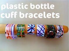 2 liter bottle cuff bracelets