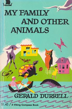 I am in love with this book. I adore Gerald Durrell. #PipLincolne