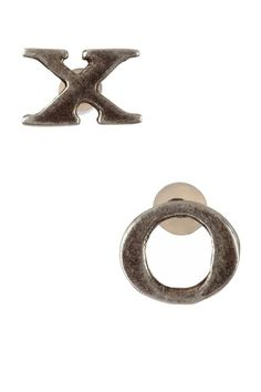 Giles & Brother XO Stud Earrings on HauteLook was 75.00 now $33.00