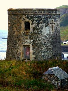 Captain Fraser's Folly, Uig, Scotland