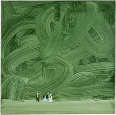 Wilhelm Sasnal. Forest, 2003. Oil on canvas.    Private Collection, courtesy of Hauser & Wirth.