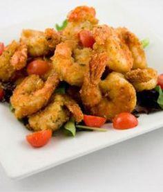 Not-fried shrimp