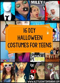 DIY Halloween Costumes for Teens | A Little Craft In Your Day