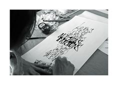 calligraphy + lettering by Silvina Viola, via Behance