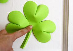 Easy St. Patrick's Day folding decorations