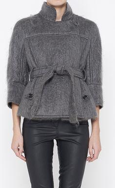 Yves Saint Laurent Grey Jacket   VAUNTE