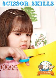 Developing Scissor Skills in Preschool