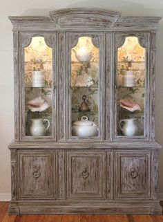 Restoration China Cabinet by LaVantteHome on Etsy