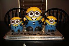 minion birthday, student, minion cakes, birthday cakes
