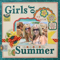 Girls of Summer **Bo Bunny** - Scrapbook.com