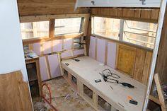 trailer remodel ideas, camper restoration, travel trailers, camper renovation, camper walls