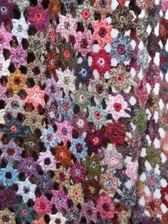 Sophie Crochet crochet scarf
