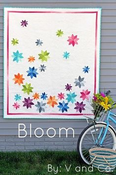 Bloom Quilt Pattern by V & Co