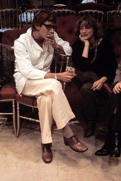 1980s - Yves Saint Laurent & Loulou de la Falaise