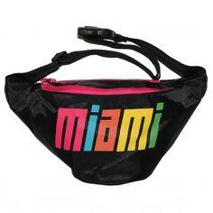 Neon MIAMI Fanny Pack. $24.95