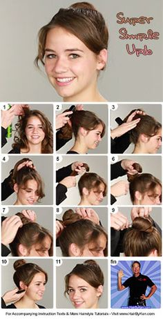 Tutorial: Super Simple Updo