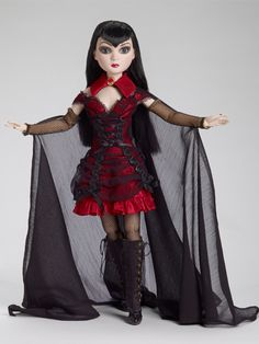 #Vampiress Dark heart Pru from the Ellowyne Wilde collection