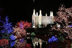 Washington DC Temple...Festival of Lights