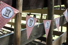 Banner at a Cowboy Party #cowboy #partybanner