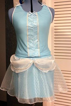 Cinderella style Running Outfit fit for a by GirlonFireActivewear, $150.00